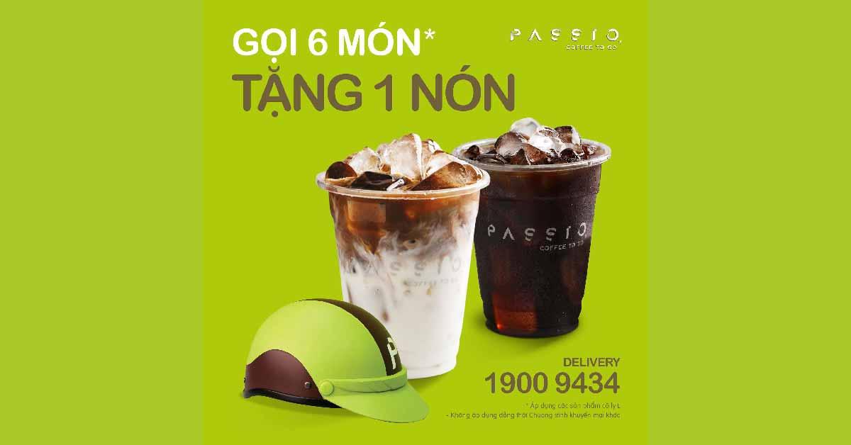 Passio Coffee Vietnam ưu đãi