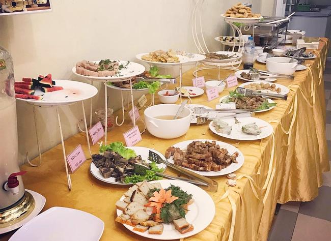 5 địa chỉ buffet chay ngon, không gian lịch sự, giá dưới 120 ngàn ở Hà Nội - Ảnh 7.