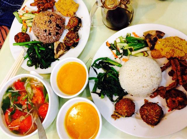 5 địa chỉ buffet chay ngon, không gian lịch sự, giá dưới 120 ngàn ở Hà Nội - Ảnh 6.