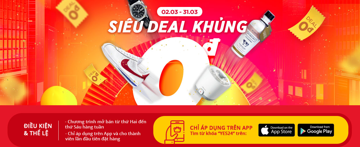 Deal 0 đồng Yes24