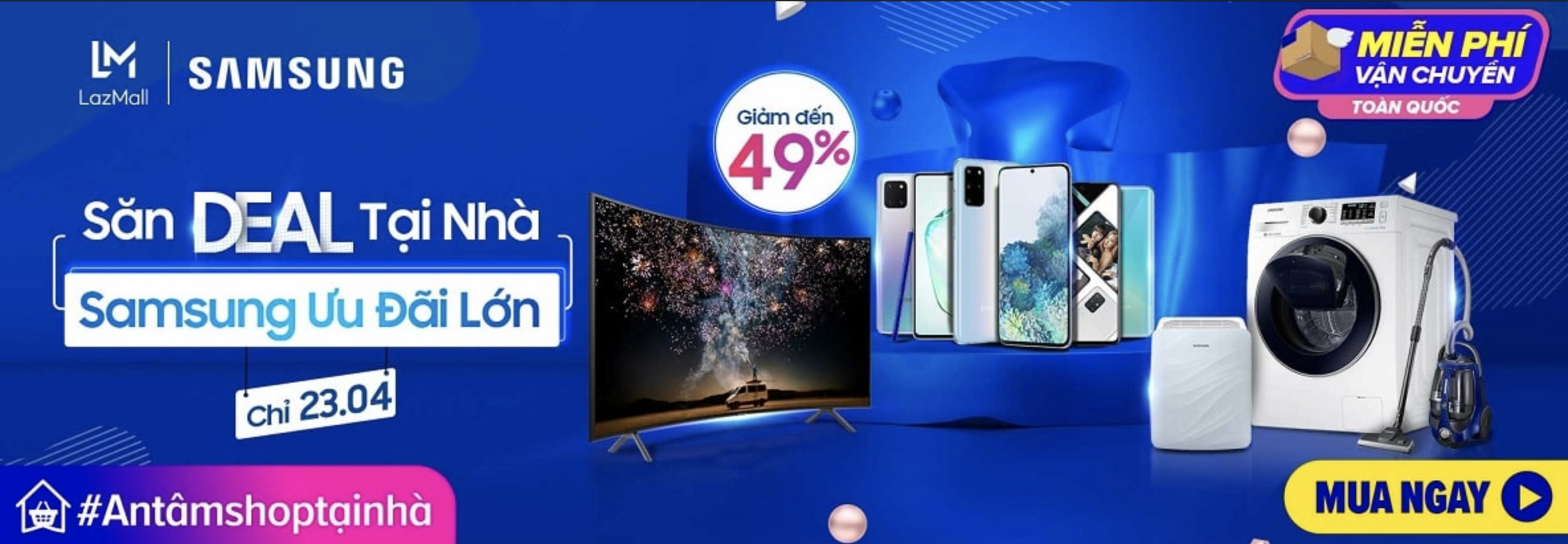 Samsung Sale Lazada 23/04