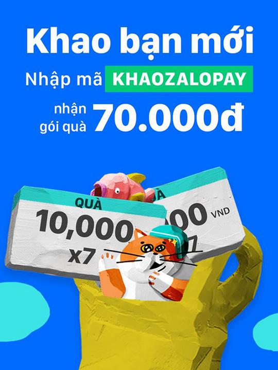 ZaloPay Baemin mã giảm giá