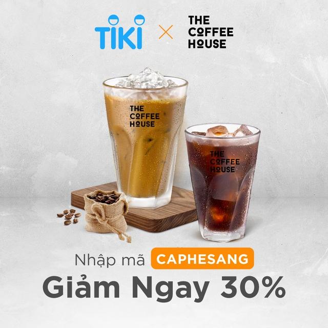 Mã giảm giá Tiki The Coffee House