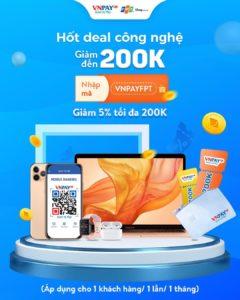 Mã giảm giá VNPay FPT Shop
