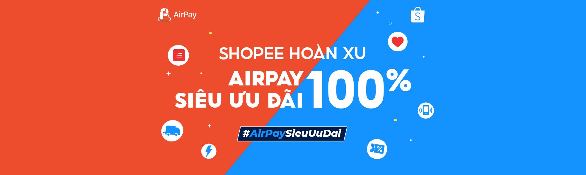 khuyến mãi airpay shopee