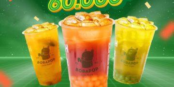 mã giảm giá 60k bobapop grabfood